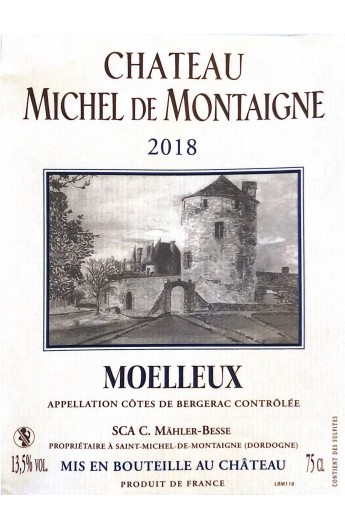 Sweet White Wine of Montaigne - Bottle
