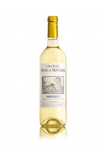 Sweet White Wine Of Montaigne Bottle Montaigne Tour